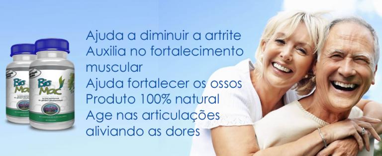 BIOMAC ajuda a combater as dores nas articulação, artrite, artrose...