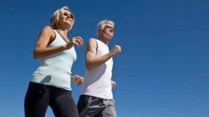 Exercícios para evitar a osteoporose.